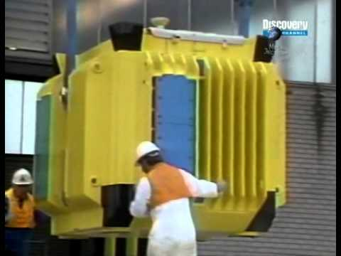 Поезд vs Контейнер ядерных отходов