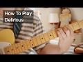 Delirious - Prince Guitar Tutorial