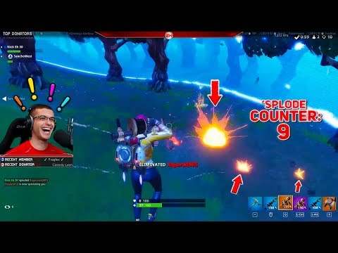 Surviving this is literally impossible...(Nick Eh 30's Best Fortnite Moments #45)