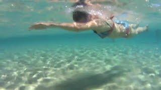 Отчёт с плавательного лагеря в Италии июль 2018.