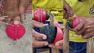 Making Cricket Ball