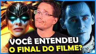 ENTENDA O FINAL DE THOR RAGNAROK (Explicado)