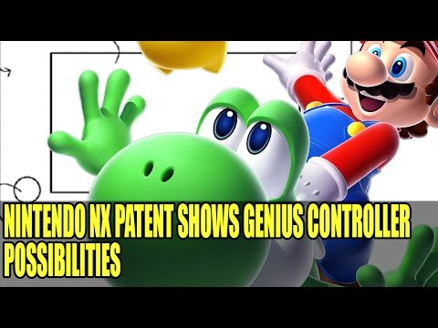 Nintendo NX Patent Appears Showing Crazy & Awesome Control Technology