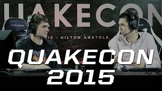 QuakeCon 2015 With Alex