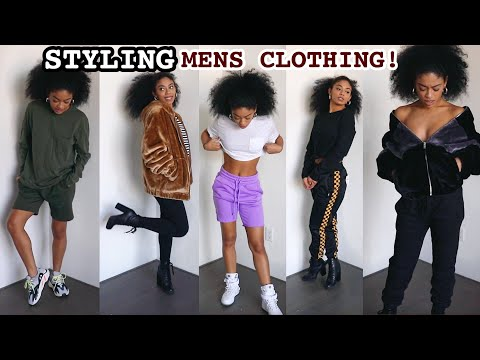 Watch Me Style Clothes From The Men鈥檚 Section ONLY! | jasmeannnn