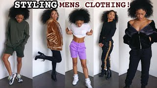 Watch Me Style Clothes From The Men's Section ONLY! | jasmeannnn thumbnail