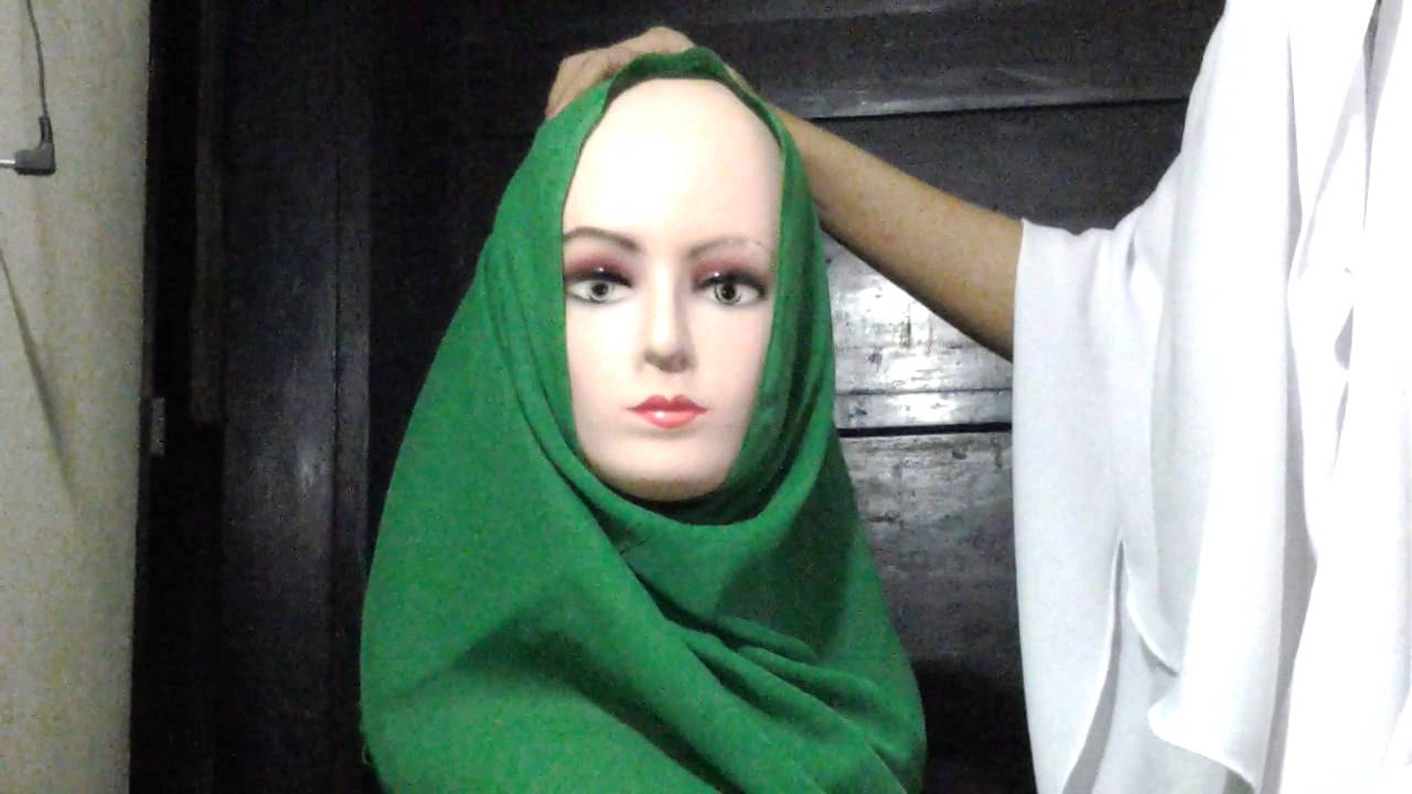 2 Hijab Tutorial Paris SyarI Menutup Payudara YouTube