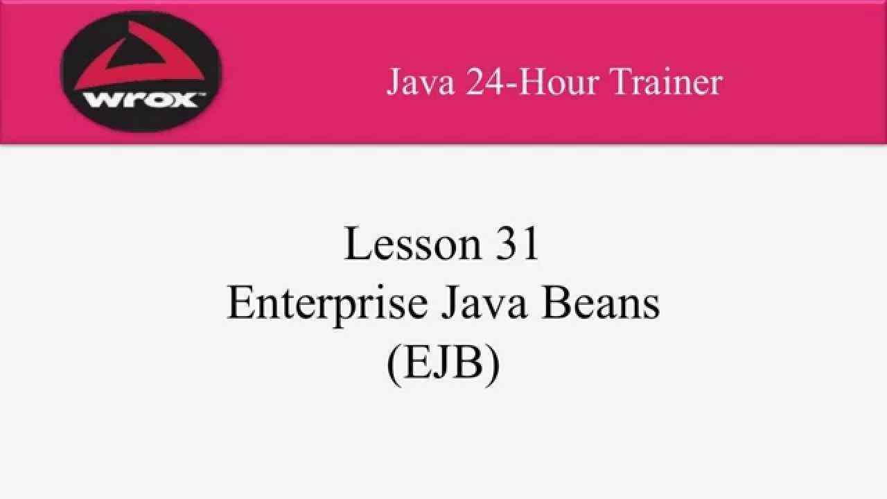 5 wrox enterprise java beans ejb tutorial overview examples wrox enterprise java beans ejb tutorial overview examples youtube baditri Images