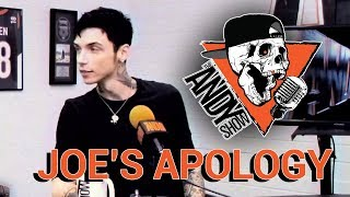 """JOE'S APOLOGY"" - The Andy Show - Patreon Throwback"