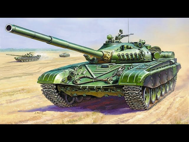 Распаковка и обзор модели Т-72А от Звезды