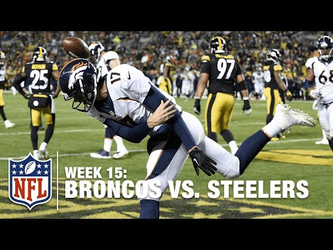 Brock Osweiler Dominates 1st Half vs. Steelers | Broncos vs. Steelers | NFL