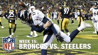 Brock Osweiler Dominates 1st Half vs. Steelers | Broncos vs. Steelers | NFL