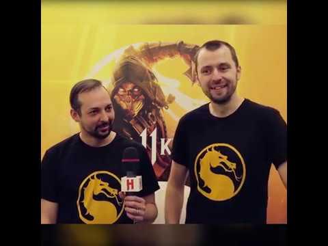 Разработчики Mortal Kombat впервые увидели клип Бурановских Бабушек