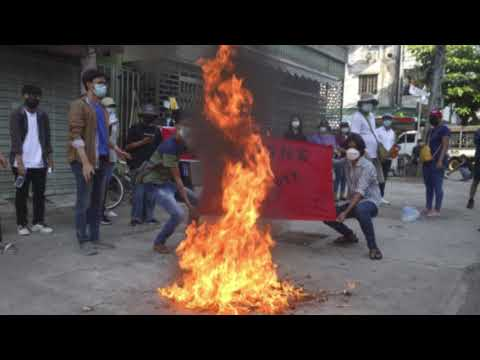 Myanmar security powers assault town that opposed with arms -World News & Politics07