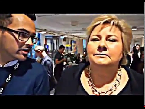 Kingdom of Norway's dyslectic PM Erna Ernestina Solberg on Brexit, and Pokemon Go with Vlad Putin