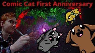 Adapting My Childhood Comic To Modern Day (Comic Cat 1st Anniversary
