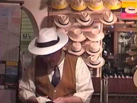 Tom Miller THE PANAMA HAT TRAIL - Book Signing and Discussion - Village Hat  Shop - YouTube 357d9f2feaa