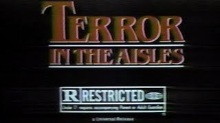 Terror in the Aisles TV commercial [1984]
