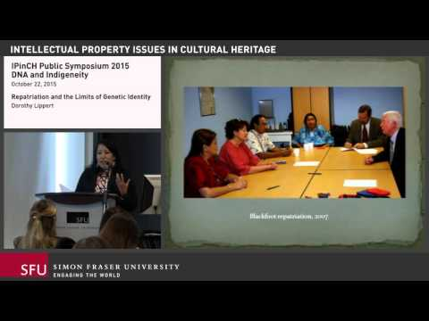Dorothy Lippert: Repatriation and the Limits of Genetic Identity