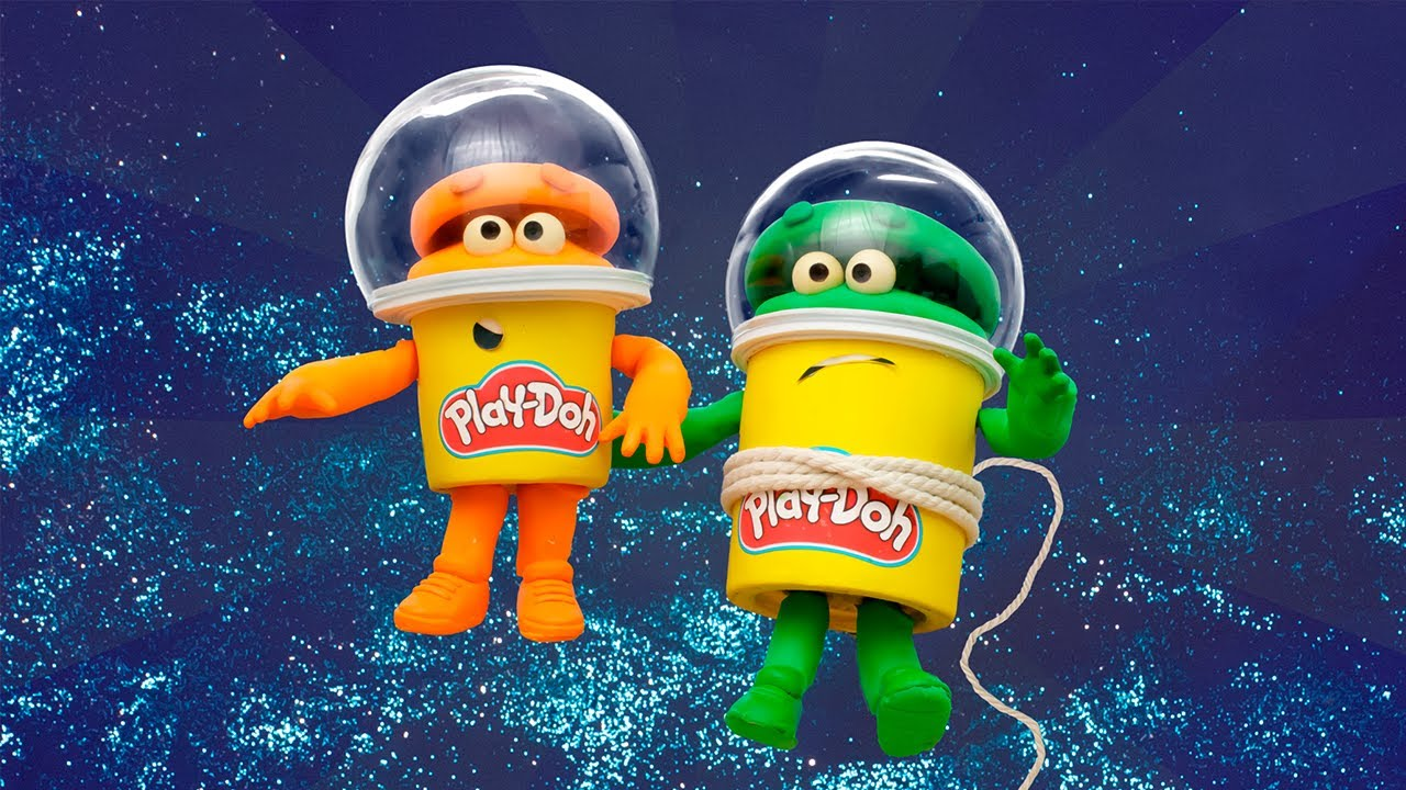 The Doh-Dohs Bounce to Space! | The Play-Doh Show | Play-Doh Official
