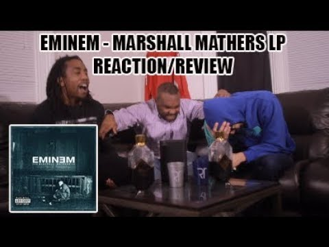 EMINEM  MARSHALL MATHERS LP FULL ALBUM REACTIONREVIEW