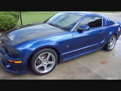 2006 Jack Roush Stage 2 Ford Mustang September 2012 Youtube
