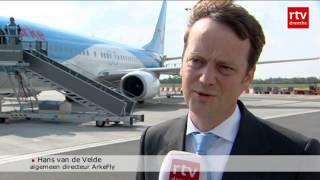 ArkeFly voor het eerst op luchthaven Eelde