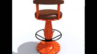 Bar Chair 3d Model From Cgtrader.com