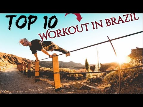 TOP 10 - BEST STREET WORKOUT ATHLETES IN BRAZIL