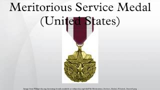 Defense Meritorious Service Medal Winners List