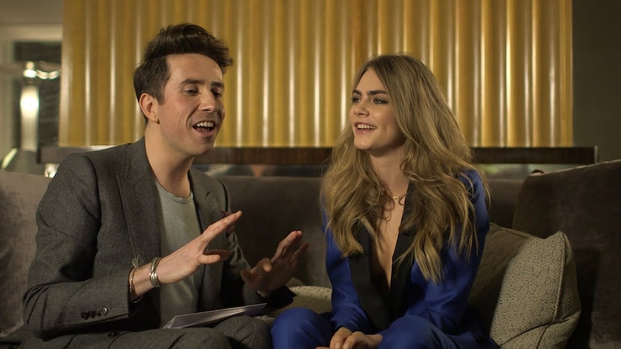 mulberry  delevingne collection  interviews youtube