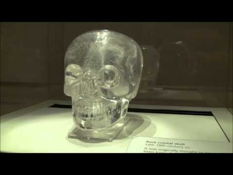 Crystal Skull In The British Museum