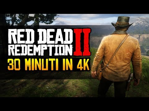 Red Dead Redemption 2: 30 minuti di gameplay ita in 4K