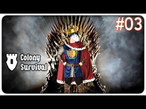 UN TRONO PER RE THELONEGAMER | Colony Survival - ep. 03 [ITA]