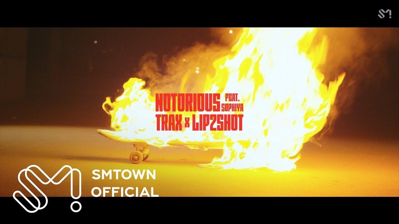 [STATION] TRAX X LIP2SHOT 'Notorious (Feat. Sophiya)' MV Teaser