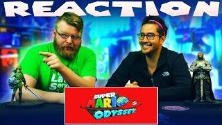 Super Mario Odyssey - Nintendo Switch Trailer REACTION!!