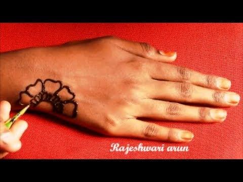 Easy Latest Jewellery Mehndi Design For Hands For Eid 2018 * Simple New Best Mehndi Art Design