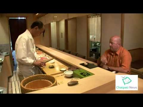 A private lunch with a sushi master