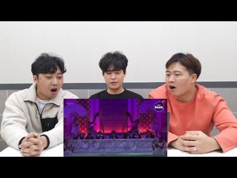 2019 MMA BTS (방탄소년단) 'Dionysus' Special Stage (BTS focus) 아재들의 찐텐 리액션!
