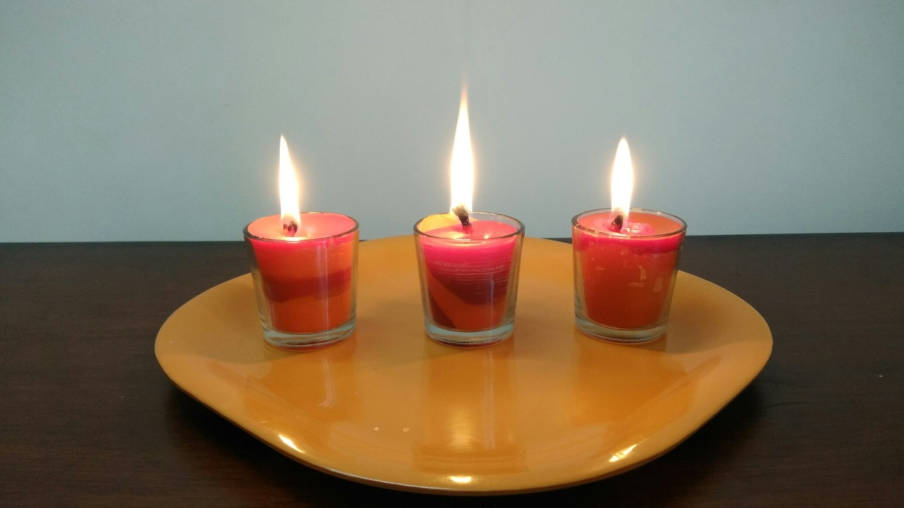 Diy How To Make 2 Colour Candles At Home You