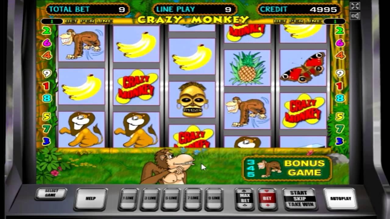 Игровые автоматы сумасшедшая обезьяна с азартные игры шуллера