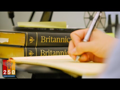 Encyclopaedia Britannica turns 250 years old