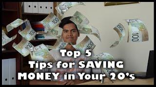 Top 5 Tips for SAVING MONEY in Your 20's | Koukun