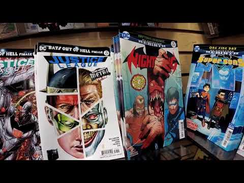 Justice League, Punisher, and more! Its New Comic Book Day! #ncbd