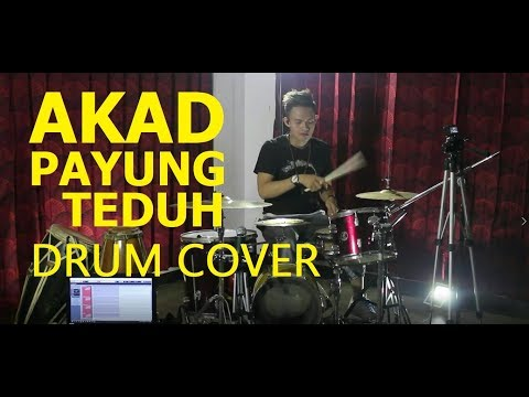 AKAD - PAYUNG TEDUH / HANIN DHIYA VERSION (DRUM COVER) by @RIRINDRUMS