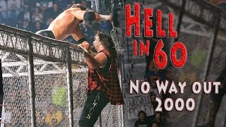 60 Seconds in Hell - Mick Foley vs. Triple H - No Way Out 2000