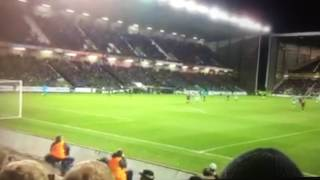 Jason Cummings Scores against Hearts (again) and the hearts fan don't like it[POV Hearts End]22.2.17
