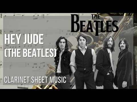 EASY Clarinet Sheet Music: How to play Hey Jude by The Beatles