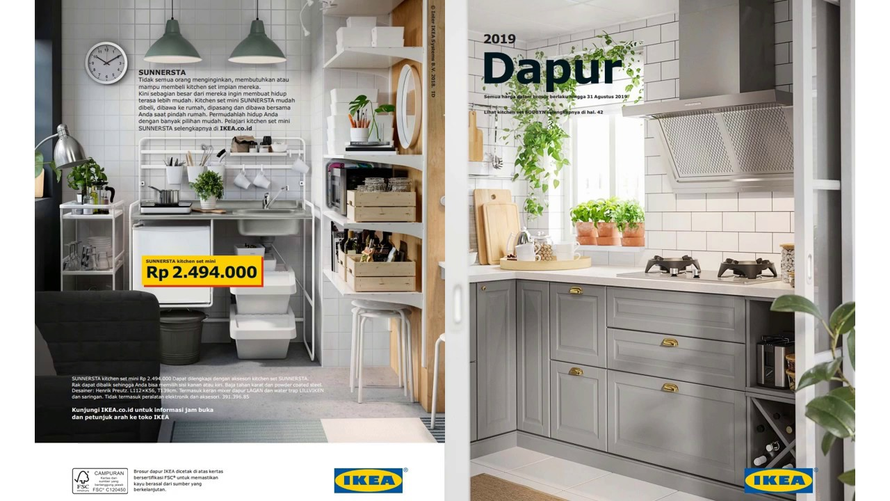 katalog dapur ikea 2019 indonesia youtube. Black Bedroom Furniture Sets. Home Design Ideas