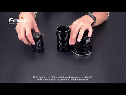 Senter Fenix LR50R Flashlight LED Rechargeable